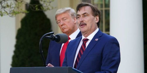 MyPillow CEO Mike Lindell says he 'never even watched footage' of the Capitol insurrection and believes 'it was a setup'