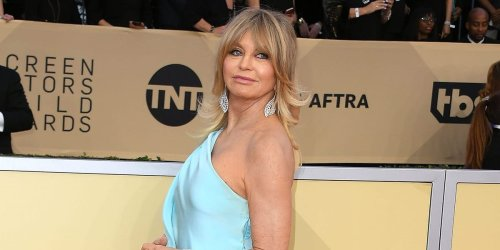 Goldie Hawn says she was 'very depressed' and 'couldn't even go outside in public' when she first became famous in her 20s