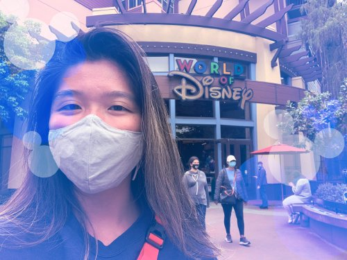 I visited Downtown Disney a week before Disneyland's reopening, and it felt like the safest place I've been during the pandemic