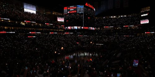 The lights went out in the last 2 minutes of an NBA playoff game, and the home team fell apart when they came back on