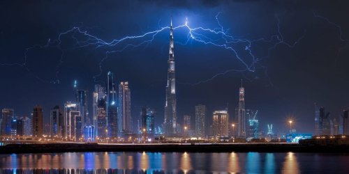 How 'rain drones' in Dubai use electric shocks against clouds to trigger rain to battle extreme temperatures
