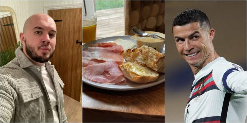 I ate like Cristiano Ronaldo for a week. By the end I was totally sick of cooking and so full I could barely work out.