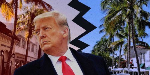 A peek inside the Trump family's coddled new life in Florida, where they've hunkered down in mansions as locals' protests outside the gates boil down to grudging acceptance