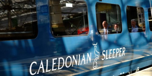 I took the Caledonian Sleeper luxury overnight train from London to Edinburgh. The cabin was cozy, the views were beautiful, and the bacon rolls were tasty.