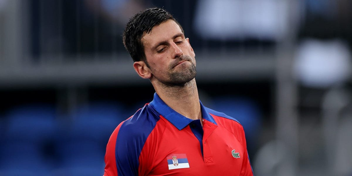 Novak Djokovic's opponent apologized for ending his dream of a 'Golden Slam' after dumping the world No. 1 out of the Olympics