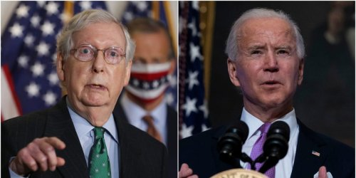 The Biden administration could sidestep McConnell's refusal to pay off America's bills by minting a $1 trillion platinum coin