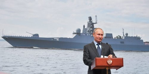 The smaller, more fearsome warship that will be the 'backbone' of the Russian navy