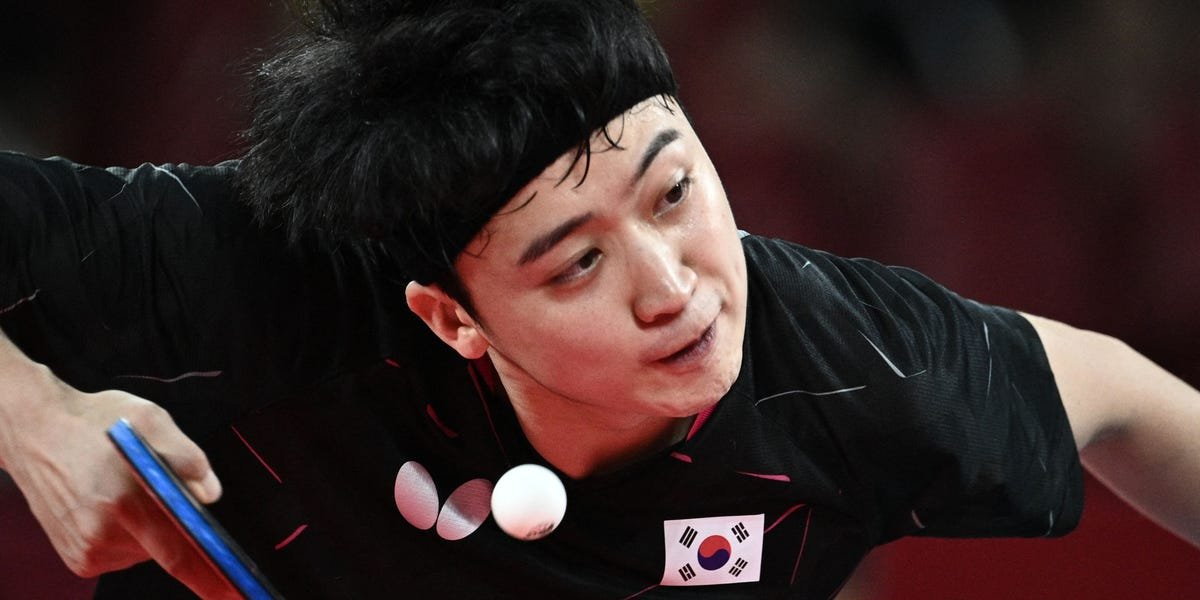 A TV commentator was fired for saying South Korean table tennis Olympians have eyes so 'narrow' he can't understand 'how they can see the ball'