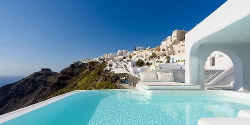 The best hotels in Santorini to book now that Greece is open to US travelers