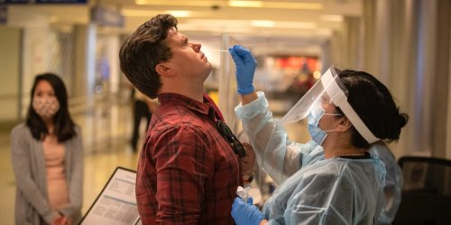 Unvaccinated Americans abroad will need a COVID-19 test within 24 hours of flying home from November, rather than the current 3 days, the White House said