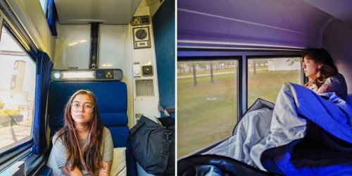 I took a 30-hour train from New York to Miami, and the motion sickness and terrible sleep were too much for me