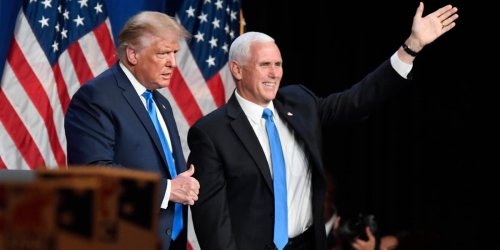 Donald Trump can't thwart Mike Pence's presidential bid as the former VP gears up for a 2024 run, report says