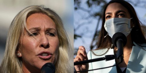 AOC responds to Marjorie Taylor Greene saying that she isn't an American: 'First of all, I'm taller than her'