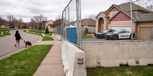 The home of the ex-police officer who killed Daunte Wright is now protected by concrete barriers and a large fence