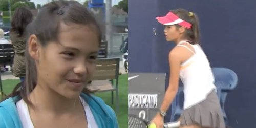 A cute video of an 11-year-old Emma Raducanu vowing to one day win a Grand Slam has resurfaced after her US Open triumph