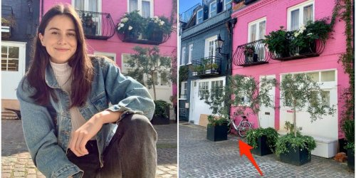 I visited one London's prettiest streets lined with million-dollar homes, and felt like a main character in a 2000s romcom