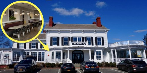 Inside the most beautiful McDonald's in America that used to be a Long Island mansion