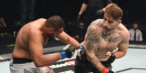 An American cop named Chris Daukaus remains unbeaten in the UFC after scoring a brutal 45-second knockout on Fight Island