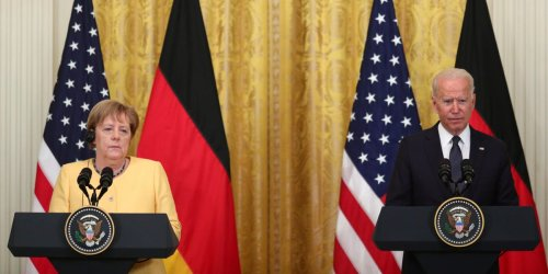 Biden wanted his first call to a foreign leader to be to Angela Merkel, but she blew him off to spend time at her country house: report