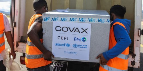 COVAX has received zero shipments — making it 140 million doses short — since March because of India's outbreak