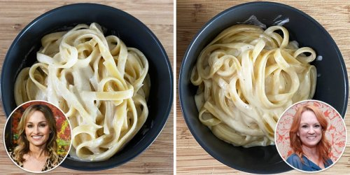 I made fettuccine Alfredo using 3 celebrity chefs' recipes, and the best doesn't require cream