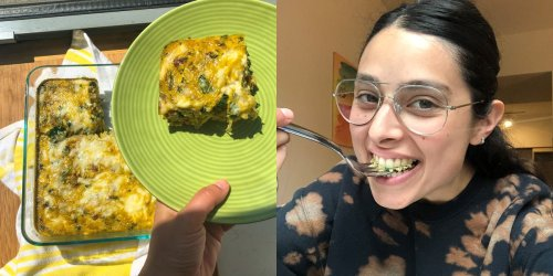 I tried Joanna Gaines' go-to egg dish for family brunch and it's a definite crowd-pleaser