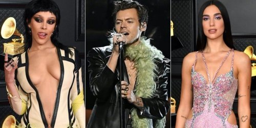 16 of the wildest outfits celebrities wore at the 2021 Grammys