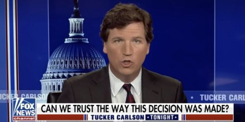 Tucker Carlson's reaction to Derek Chauvin's conviction was to cast doubt on the jury who decided he murdered George Floyd