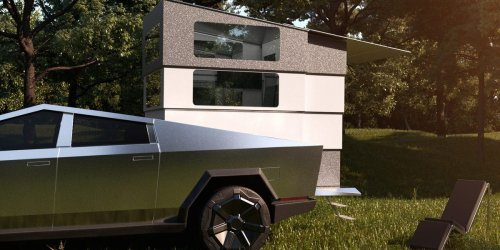 This $50,000 attachment turns your Tesla Cybertruck into a campervan — and it even comes with a Starlink dish