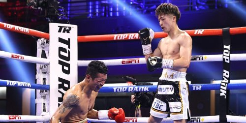 The sound Naoya Inoue's knockout shot made when it cracked his opponent's body shows how brutal boxing can be