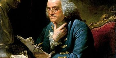 10 tricks plucked from Benjamin Franklin's actual daily schedule that will double your productivity