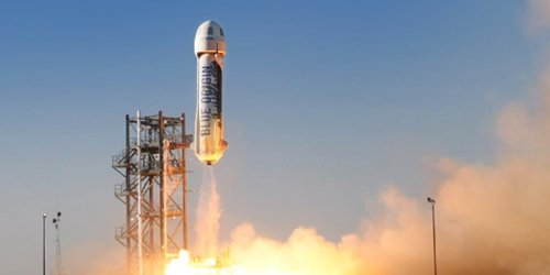 Jeff Bezos' rocket company just made a significant step toward lowering the cost of access to space