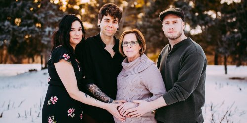 A man whose 61-year-old mom gave birth to his daughter said it was a 'magical' experience that forced him to challenge his own internalized stigma