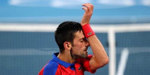 Novak Djokovic's Olympics temper tantrum showed the true difference between how he and Simone Biles handle pressure