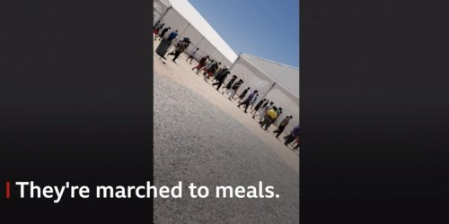 Leaked video shows Texas child migrant camp, where staff allege kids are sexually abused and COVID-19 is rampant