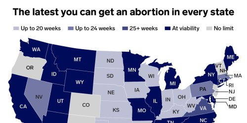 The latest point in pregnancy you can get an abortion in all 50 states