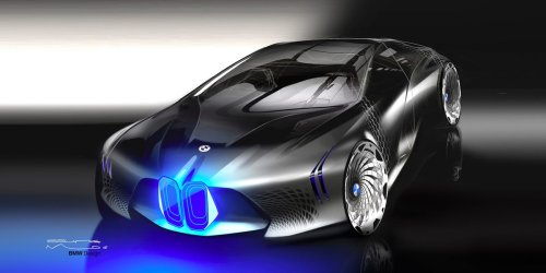 BMW just unveiled its mind-blowing vision for cars 100 years in the future