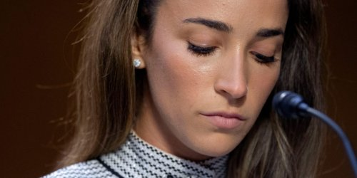 Aly Raisman says US officials continue to cover up abuse, gaslight survivors, and 'treat us so horribly'