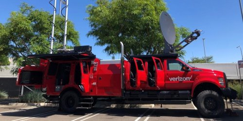 Verizon has unveiled THOR, a custom Ford F650 that can deploy a satellite dish, 5G mast, and drones to respond to natural disasters and emergencies