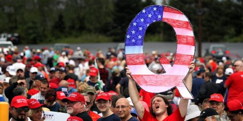 A QAnon believer tried to kill his pregnant partner with a hammer while she was bathing