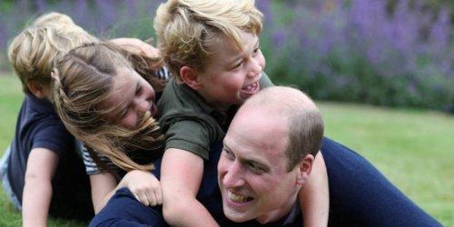 24 photos of royals being regular dads