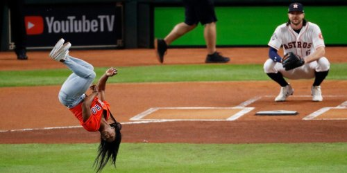 Simone Biles reveals how she practiced her MLB first pitches so she wouldn't 'end up in one of those fail videos'