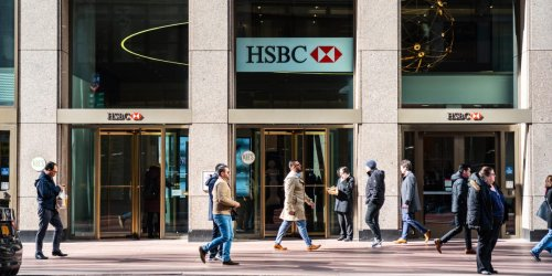 An HSBC manager has vowed to stop putting up with 's*** at work' after having a heart attack