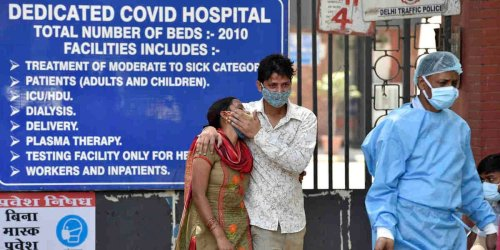 India reported more than 314,000 coronavirus cases in one day, the highest ever recorded by a single country