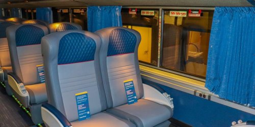 Amtrak just debuted upgraded long-distance trains that will transform rail travel in America with new seats and rooms — see inside