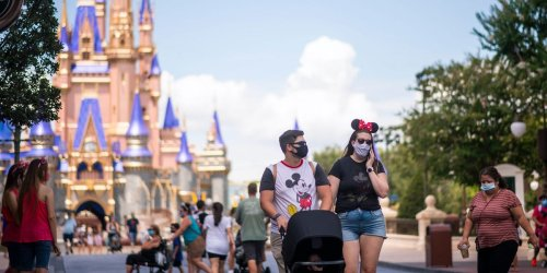 Disney World no longer requires guests to wear masks outdoors, except in attractions and park entrances