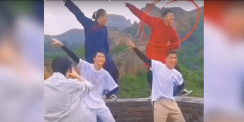 Chinese actor receives backlash online for dancing on top of the Great Wall while filming a music video