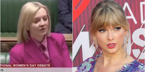 A British politician quoted Taylor Swift's 'The Man' during an International Women's Day debate in Parliament