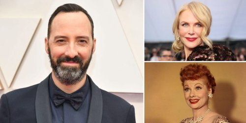 Tony Hale says it was 'very surreal' watching Nicole Kidman play Lucille Ball