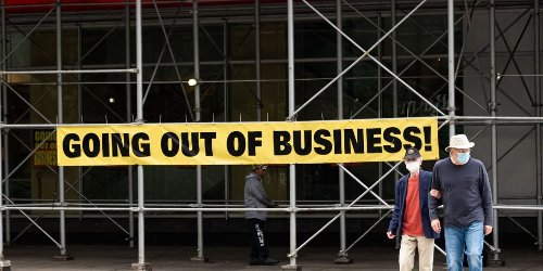 The pandemic didn't hit US businesses as hard as predicted, with fewer than 200,000 closing